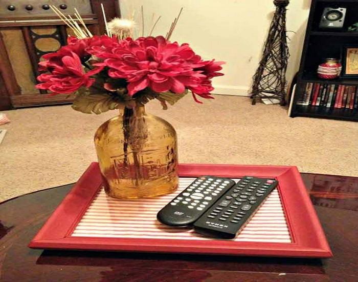 DIY Repurpose Picture Frames Home Decor Idea