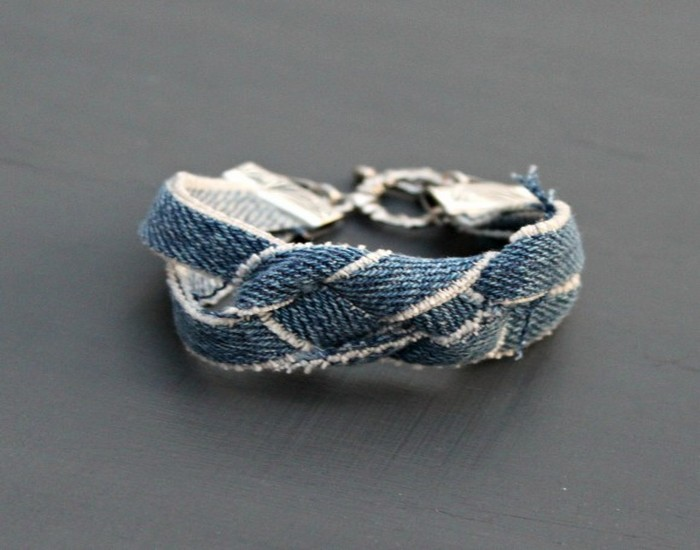 Denim DIY Bracelet