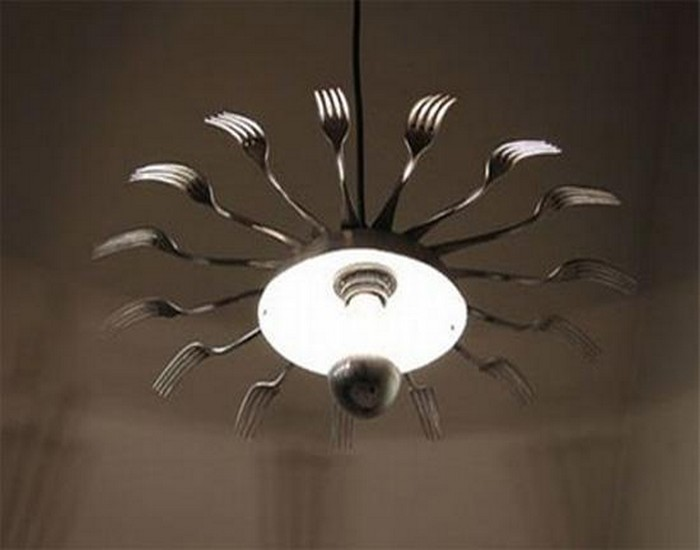 Metal Spoons Light