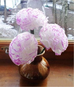 DIY Plastic Straws Recycling and Making Paper Flowers