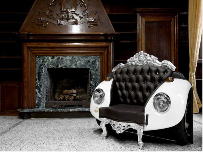 innovative idea recycling car parts for modern furniture