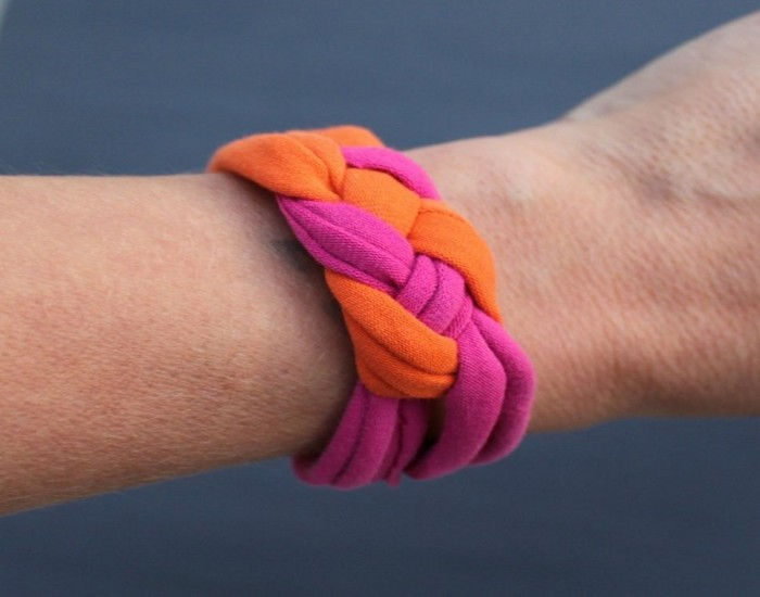 Recycled Fabrics Bracelet