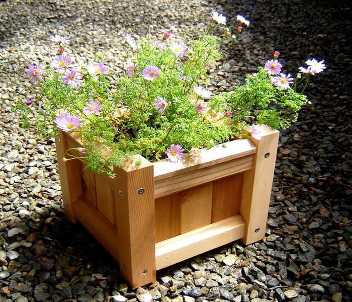 Recycled Wood Decor Box