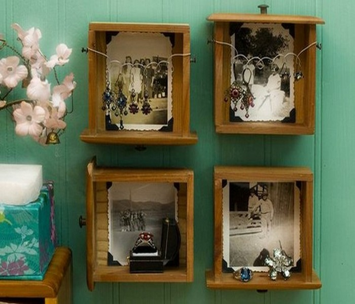 Recycled Wood Pieces Decor Ideas Things
