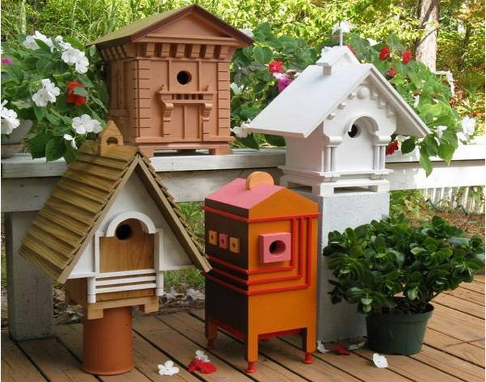 Recycled Wood for Birdhouses