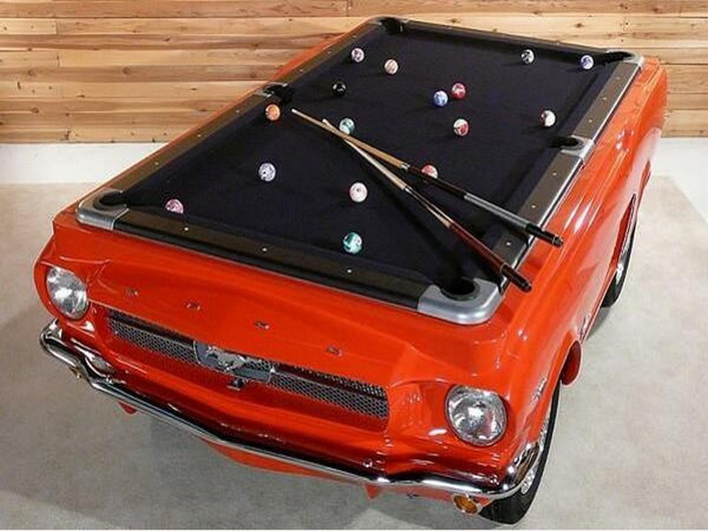 Recycling Car Parts for Billiard Game