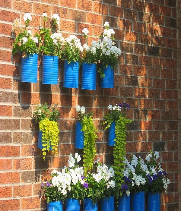 Repurpose Tin Cans Home Decor Ideas