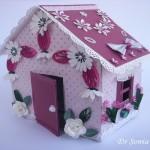 Innovative Idea DIY Recycled Cardboard Doll House