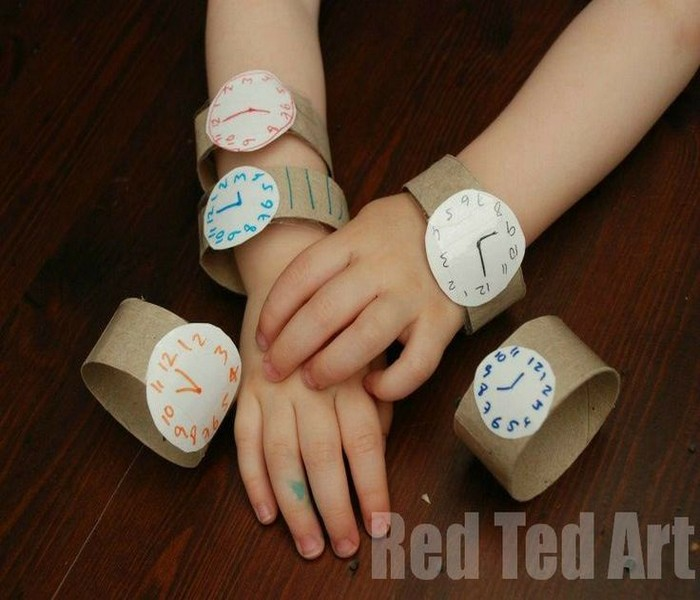 Recycled Paper Roll Watch