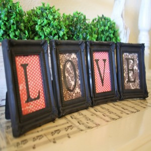 Upcycled Picture Frames for Decor your Home
