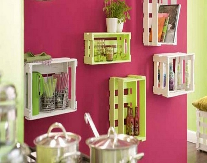 Upcycled wood pallets to decor your home recycled things Ideas to decorate your house