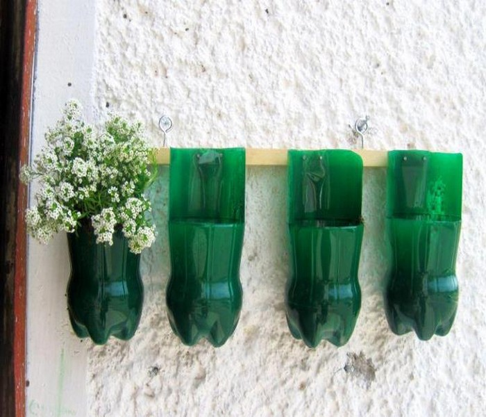 How to recycling plastic bottles recycled things - Decoraciones recicladas para el hogar ...
