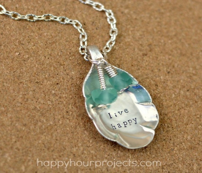 Upcycled Spoon Necklace Idea