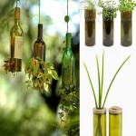 Wine Bottles Recycling Ideas