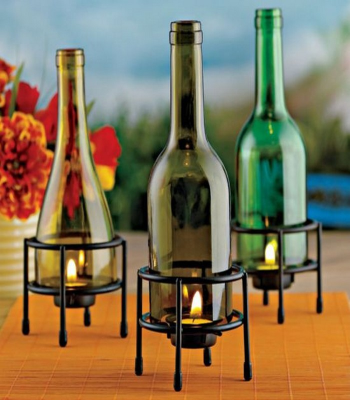 Wine Bottles Recycling