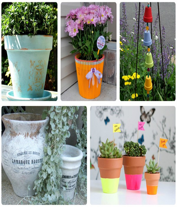 4 Ways to repurposed terracotta flower pots