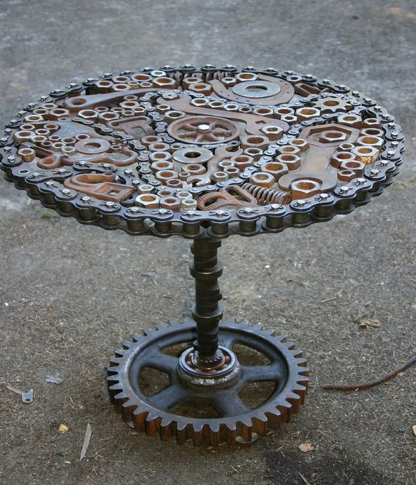 Upcycled amp Recycled Metal Creations Crafts Ideas