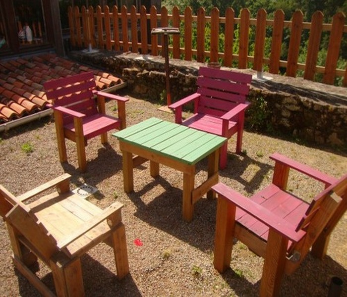 Recycled Wood Pallets Beautiful Furniture