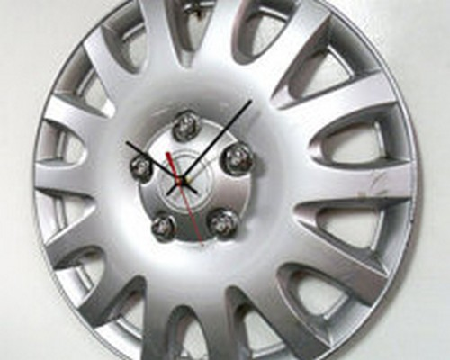 Upcycled Automotive Part Wall Clock