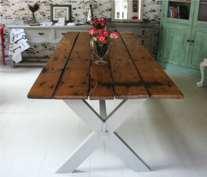 Upcycled Wood Pallets Table
