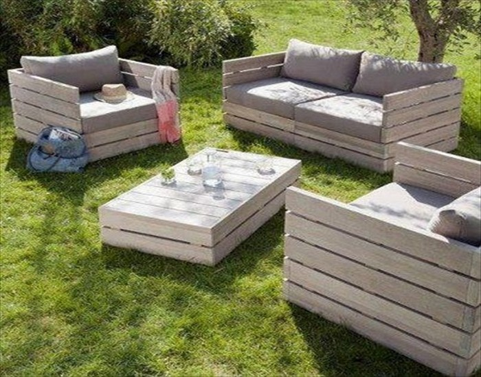 recycled wood patio furniture