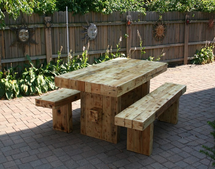 Reclaimed Wood Outdoor Furniture | Wb Designs