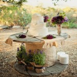 Recycled Wooden Spools Patio Decor Ideas