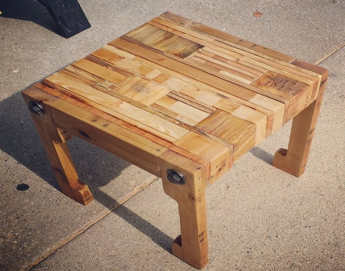 Repurposed Wooden Bench Idea