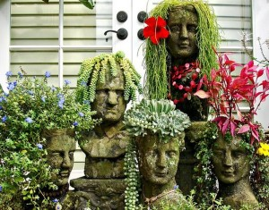 Upcycled Garden Decor Ideas