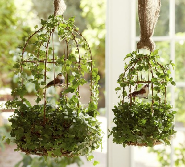 Bird Cages Outdoor Decorating