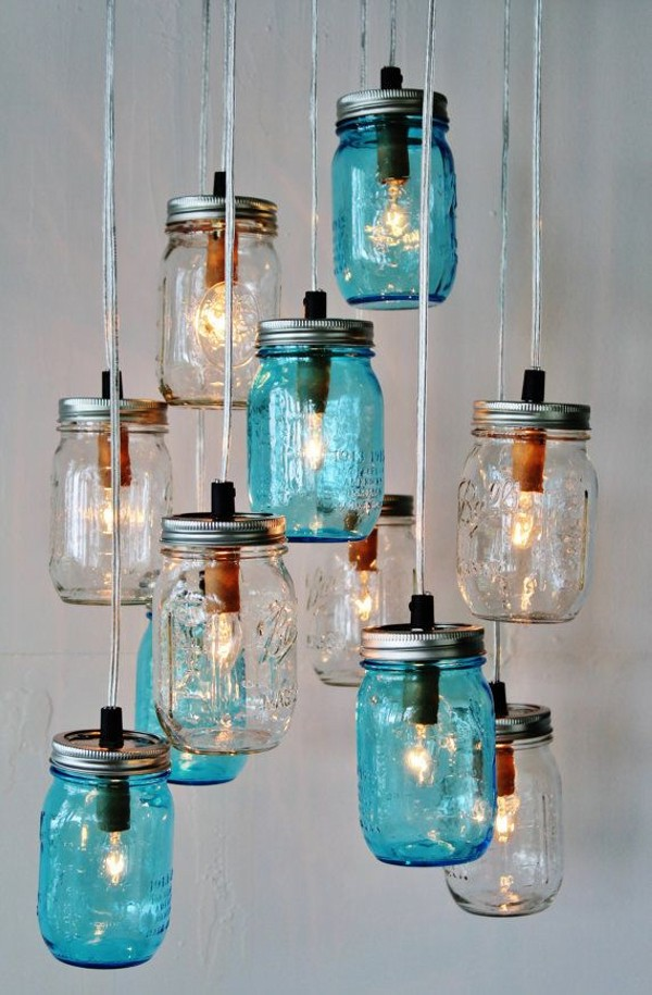 DIY Mason Jars Into Beautiful