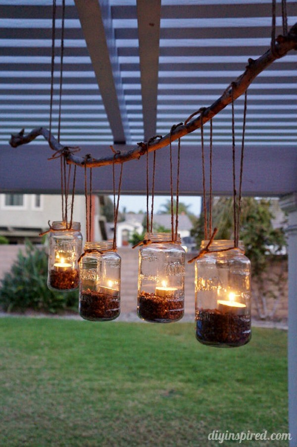 Upcycled Mason Jars Into Beautiful Chandeliers Recycled