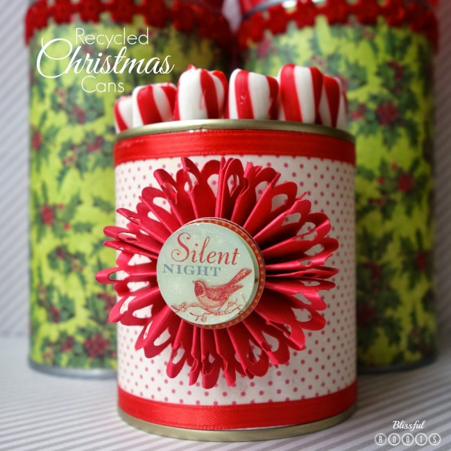 Diy creative decorations from recycled tin cans recycled things - Diy tin can ideas ...