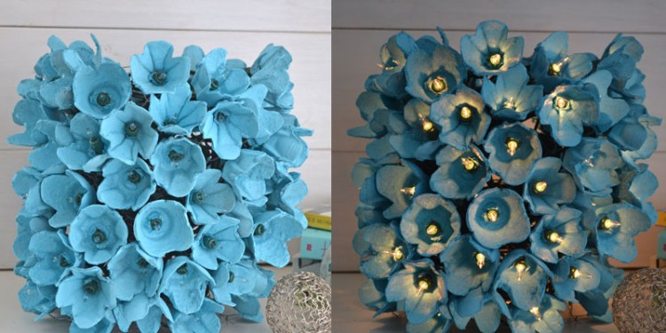 Diy recycled egg carton crafts recycled things Egg carton flowers ideas