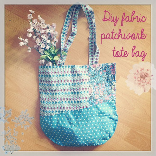 DIY Recycled Fabrics Bag
