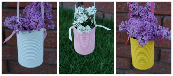 DIY Recycled Tin Cans Beautiful Flower Vase