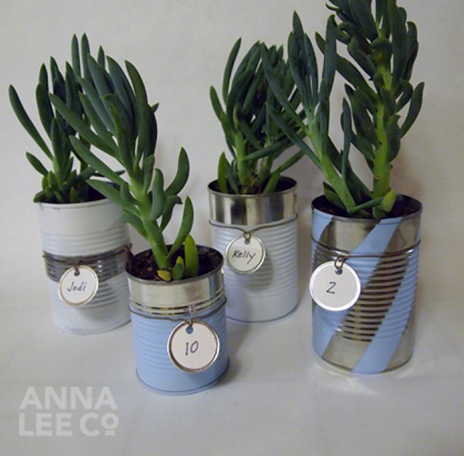 Diy creative decorations from recycled tin cans recycled for Tin can diy