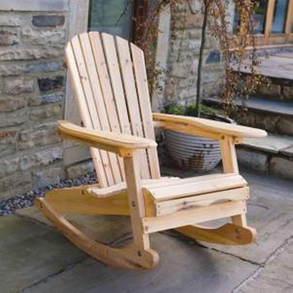 DIY Wooden Sunbath Chair