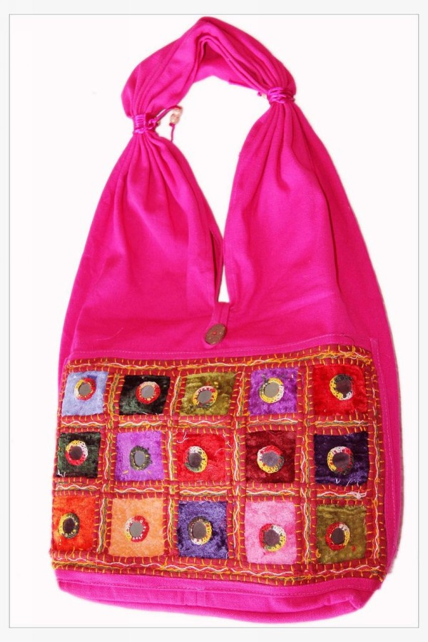 Elegant Bag Made from Recycled Fabrics