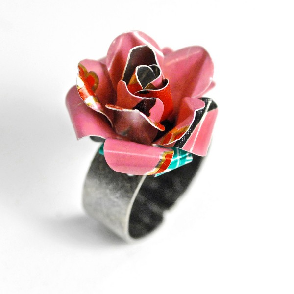 Recycled Aluminium Tin Jewelry Bracelet