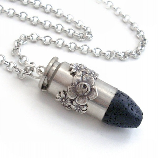 Recycled Bullet Jewelry Necklace