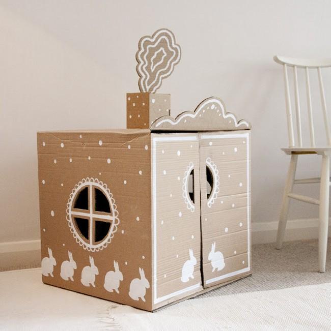 Recycled Cardboard Box Kid Toys