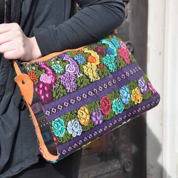 Recycled Fabric Handbag