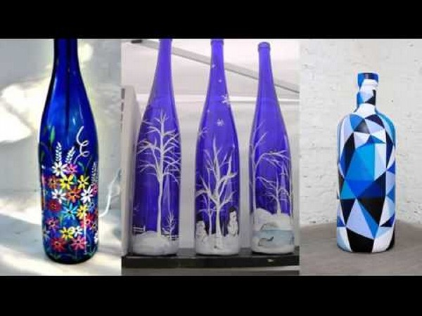 Decorate A Glass Bottle Best Repurposed Glass Bottles Into Creative Decorations  Recycled Things Review