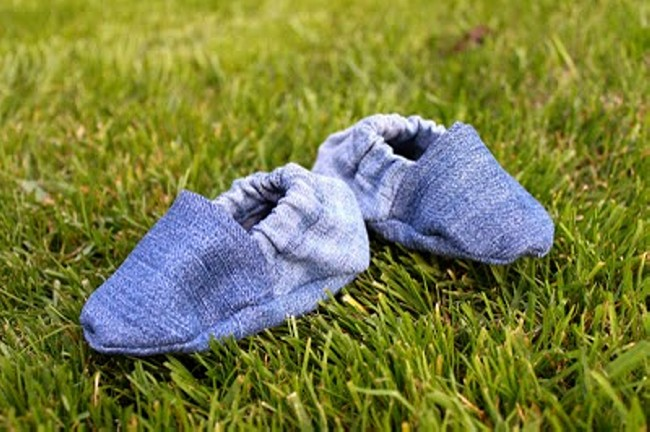 Recycled Old Jeans into Stylish Shoes