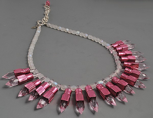 Recycled Jewelry Unique Necklace