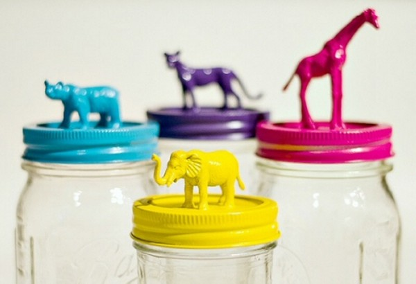 Recycled Mason Jars Toy Kid Crafts