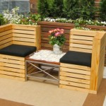 Recycled Wooden Pallets Furniture for Patio Decor