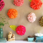 Recycled Paper Wall Decor Ideas