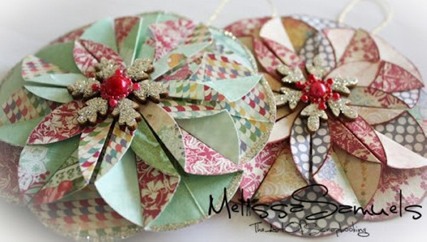 Recycled Paper Flowers Idea